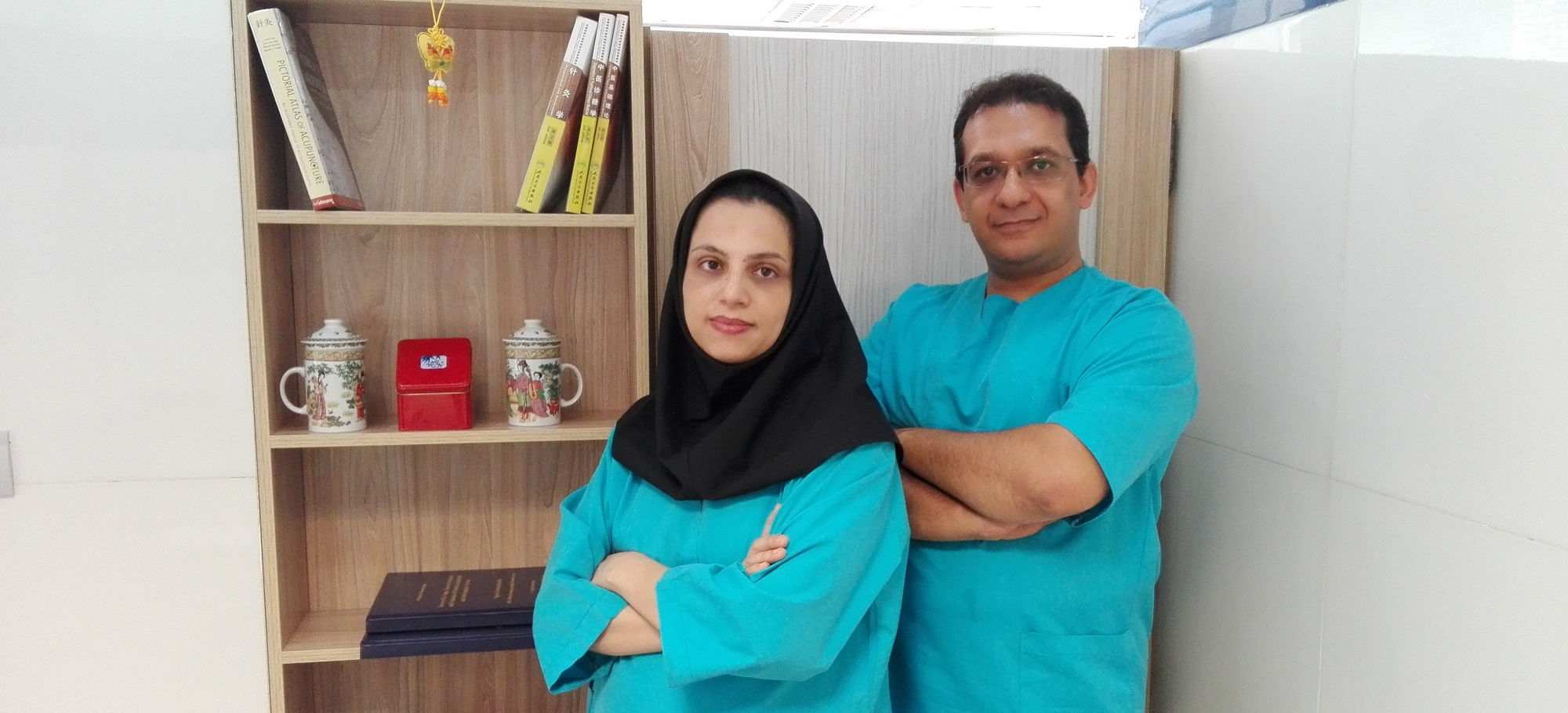 دکتر قائمی نیا و دکتر زارعی