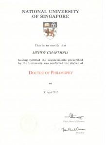 دانشنامه PhD دکتر قائمی نیا